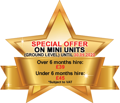Special Offer on Mini Units