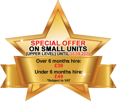 Special Offer on Small Units