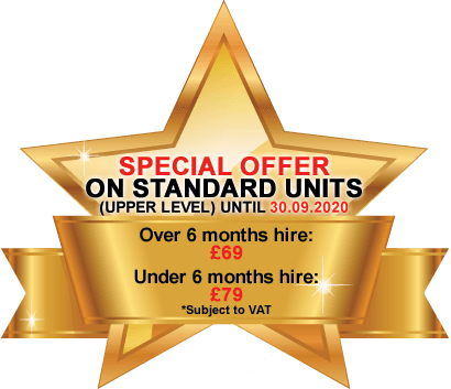 Special Offer on Standard Units